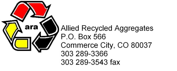 Allied Recycled Aggregates logo