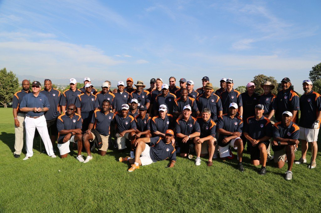 Denver Broncos Alumni Golf Tournament 2013